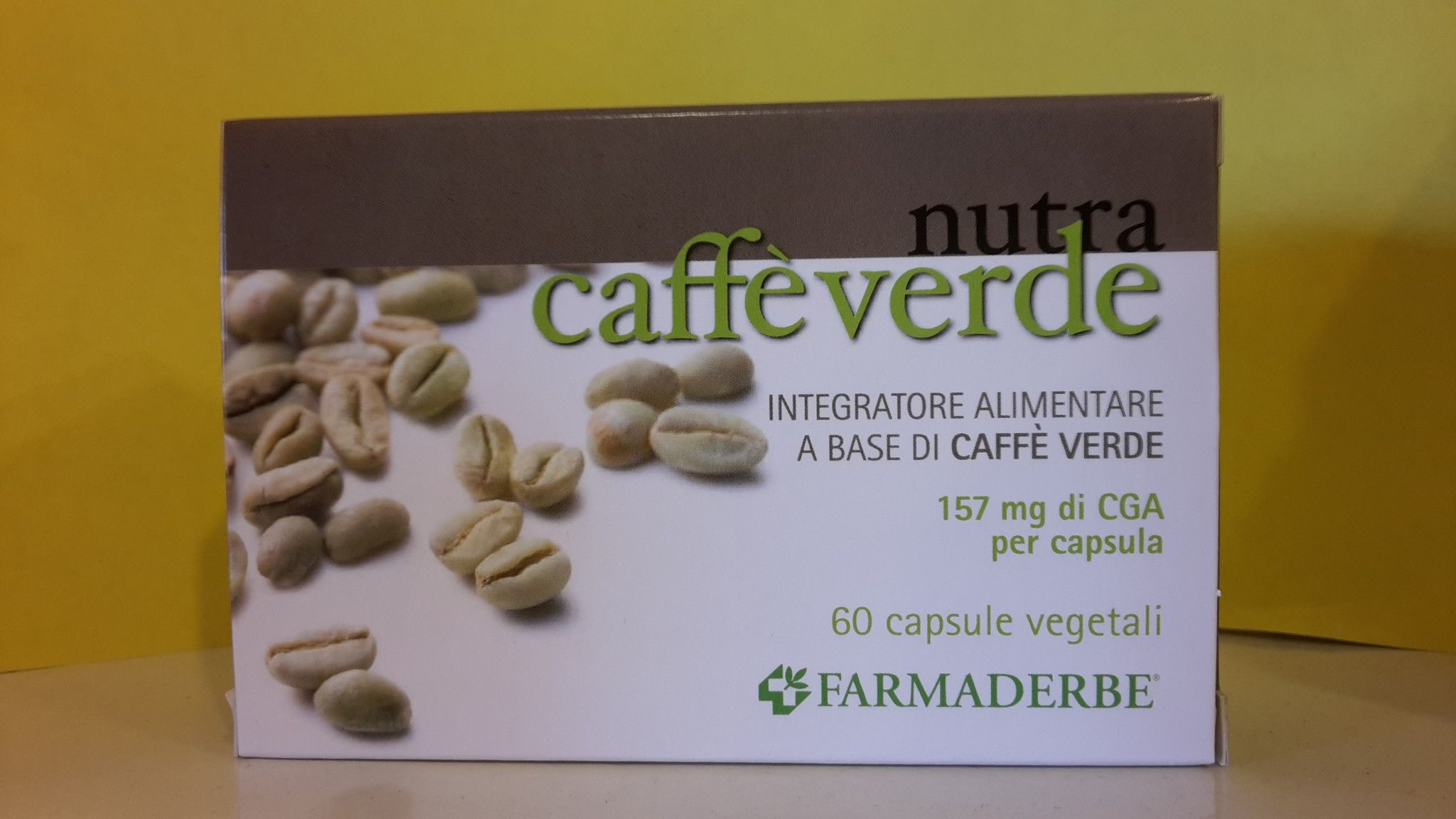 FARMADERBE  N. CAFFE' VERDE  60 cps