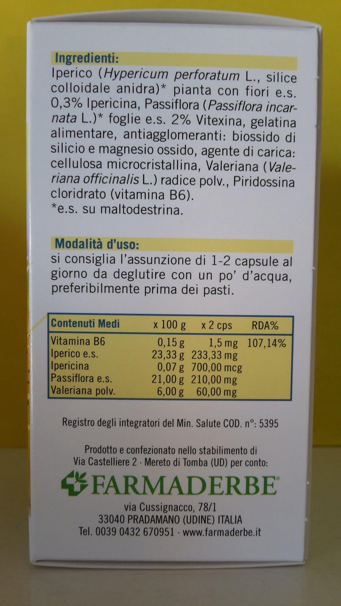 FARMADERBE HYPERSEREN  30 cps  Antidepressivo
