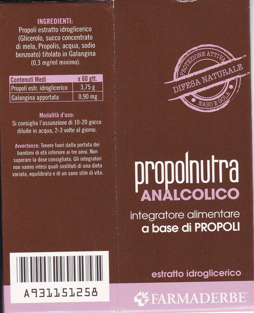 FARMADERBE PROPOLNUTRA  30 ml  Propoli