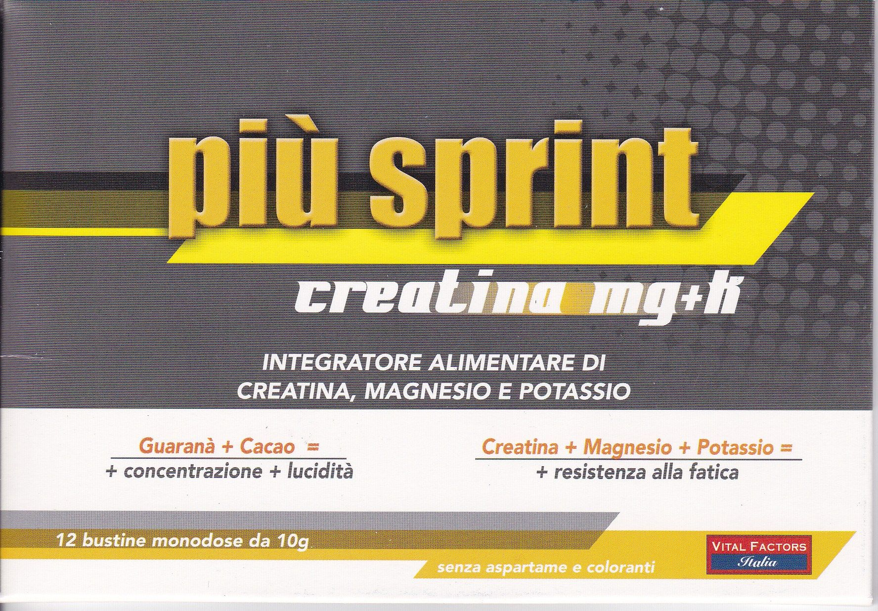VITAL FACTORS PIU' SPRINT  creatina+mg+k  12 buste