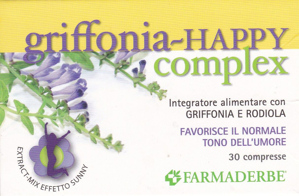 FARMADERBE GRIFFONIA -HAPPY COMPLEX  30 cpr