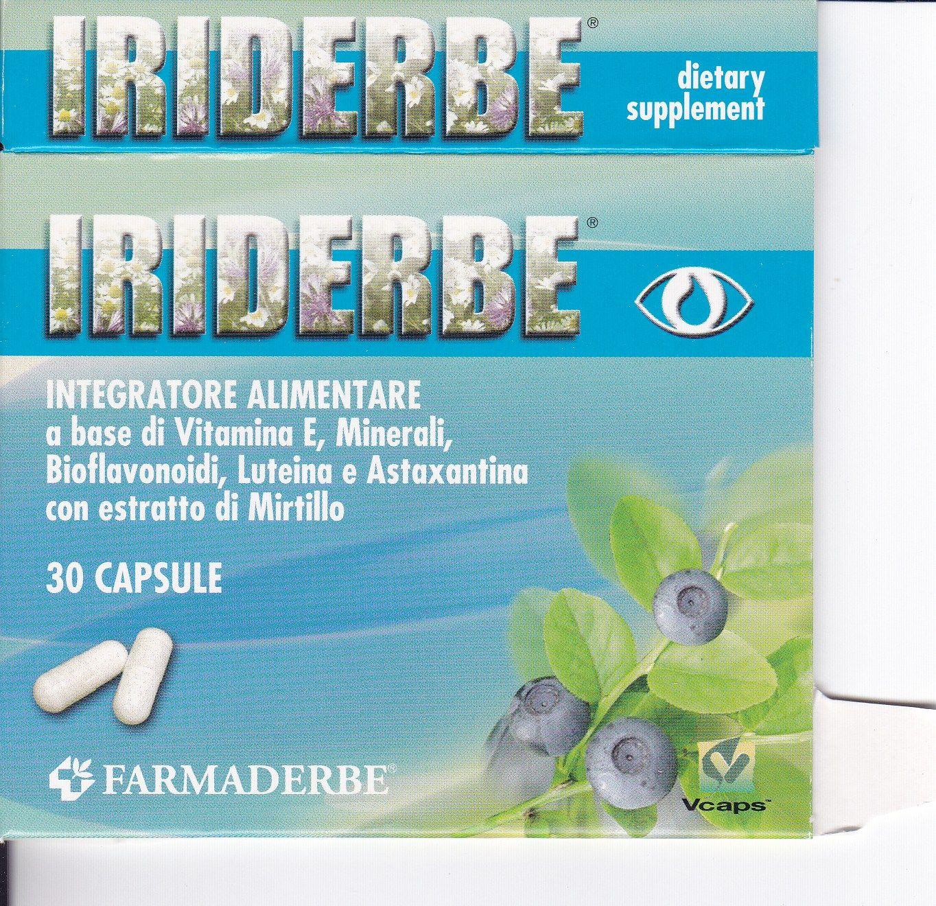FARMADERBE IRIDERBE cps OCCHI
