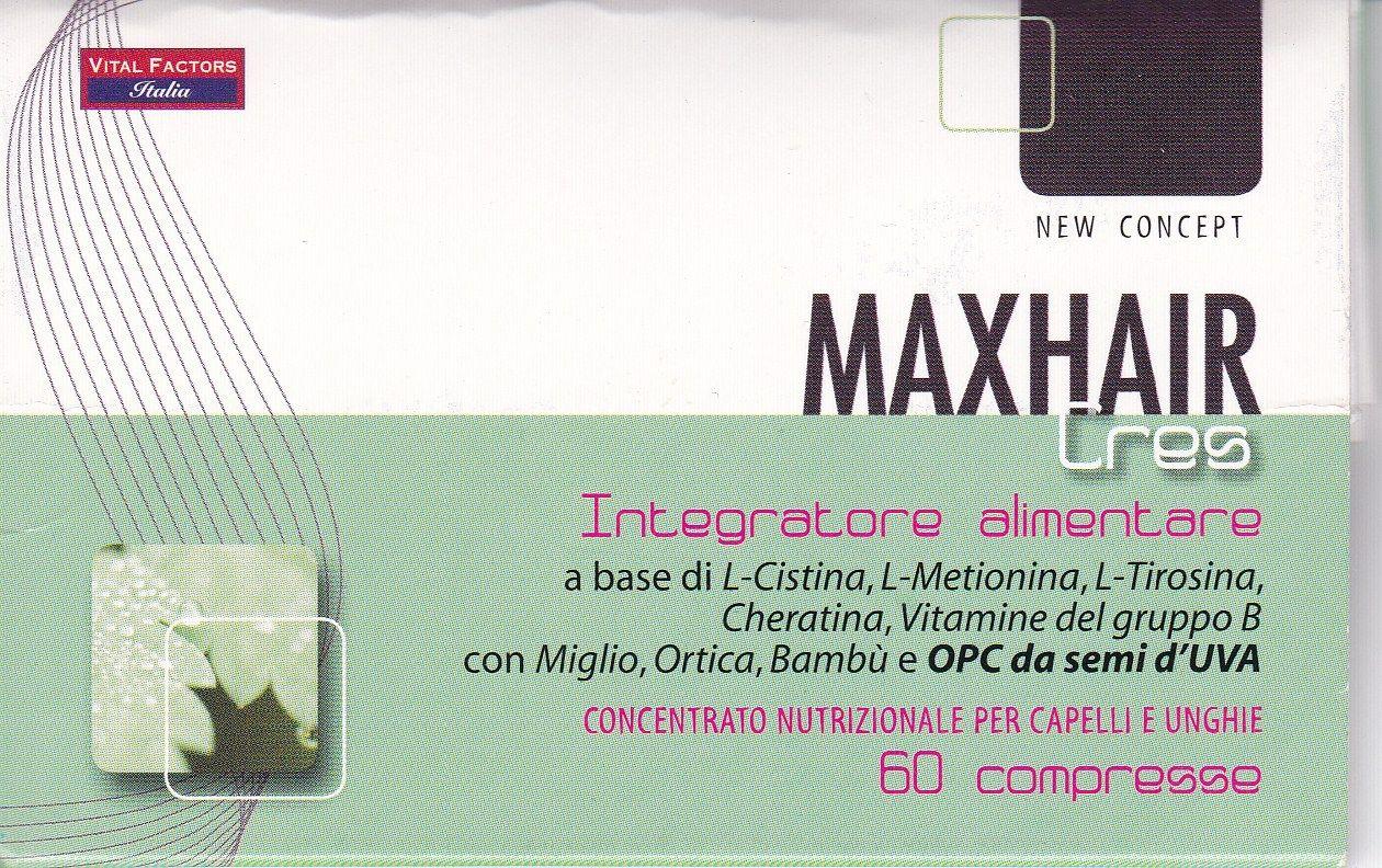 MAX HAIR 60 cps- CRES capelli - VITAL FACTORS