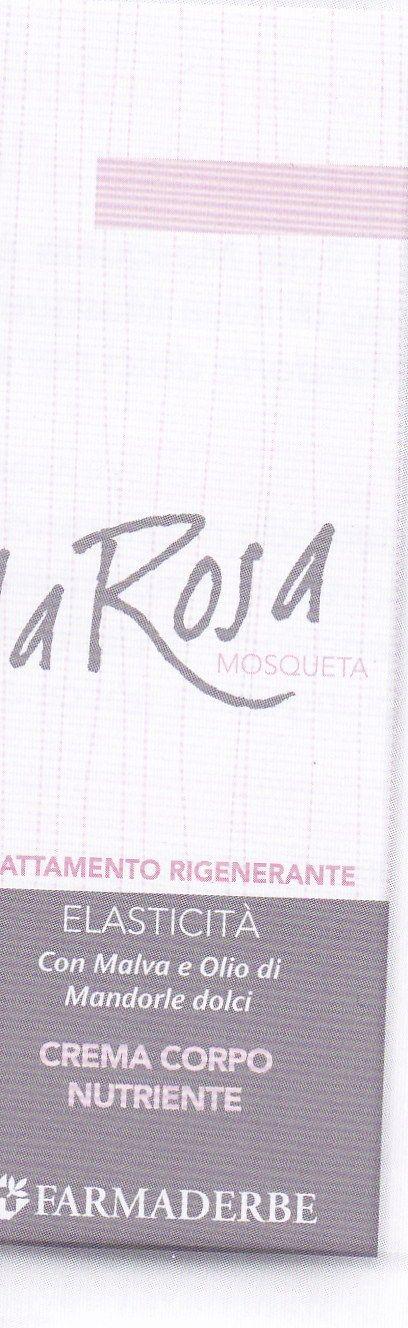 ROSA MOSQUETA  crema corpo 150 ml-  Farmaderbe