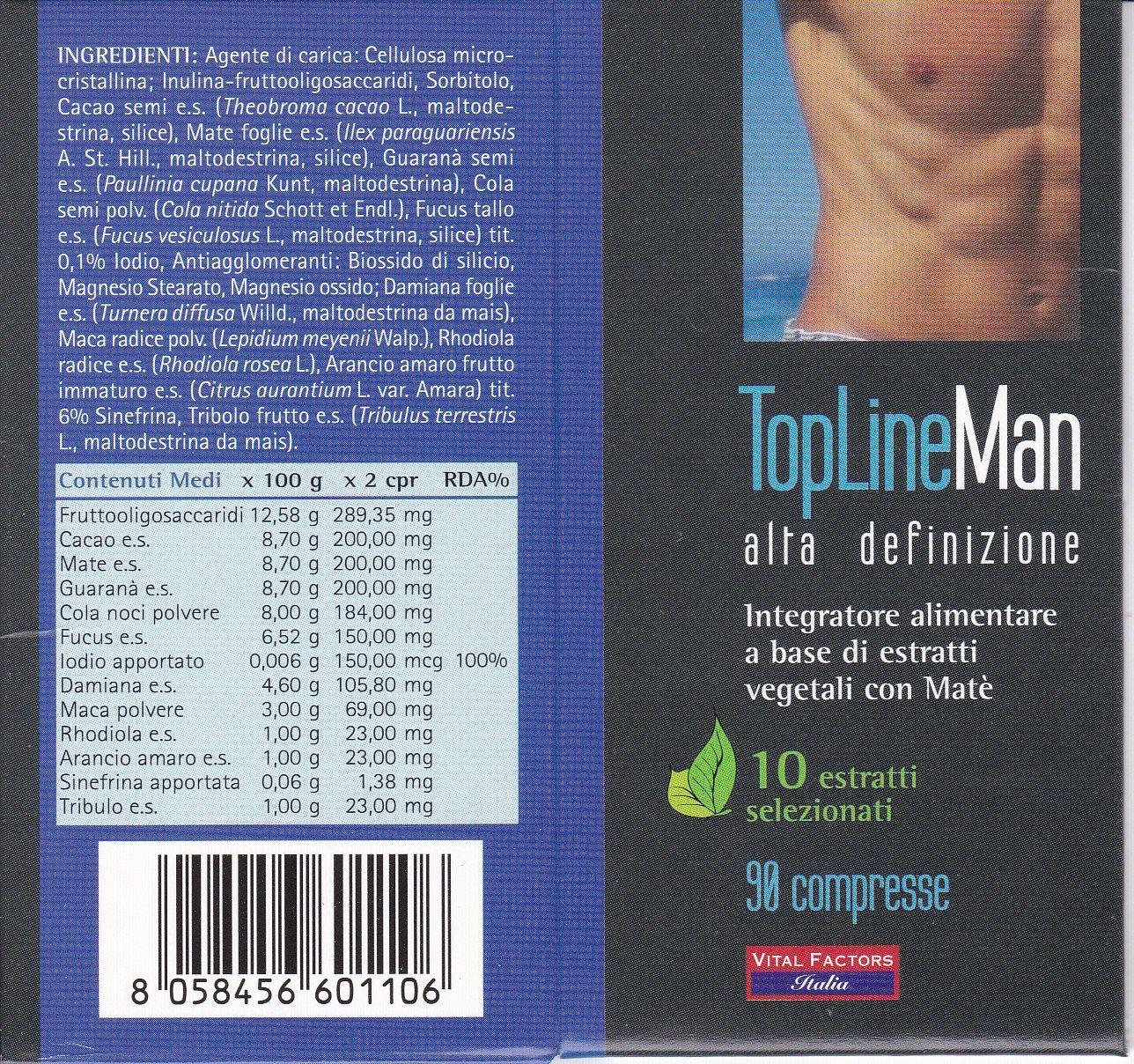 VITAL F. TopLineMan  90 cpr