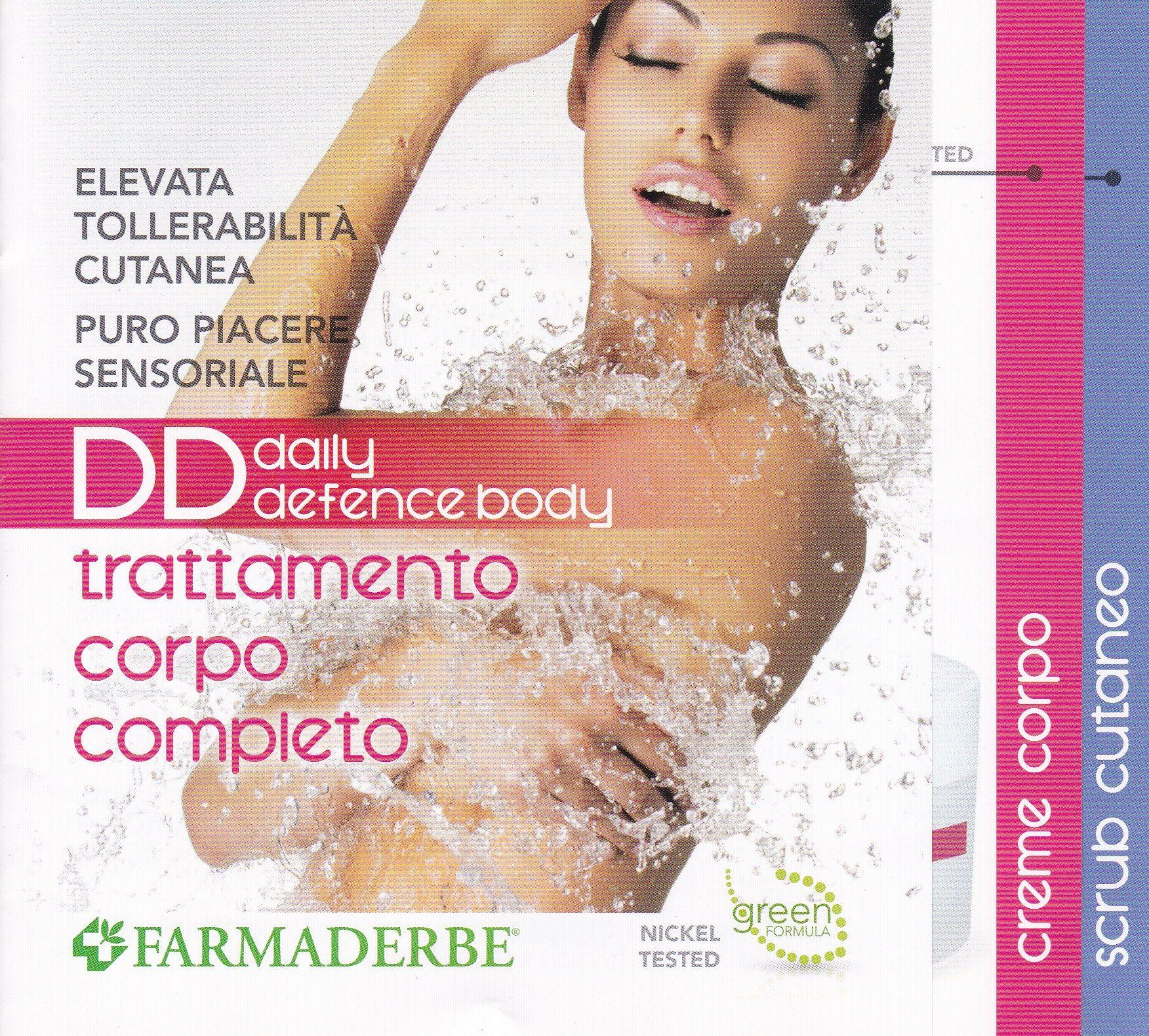 DD- BALSAMO Doccia Corpo 150 ml  FARMADERBE