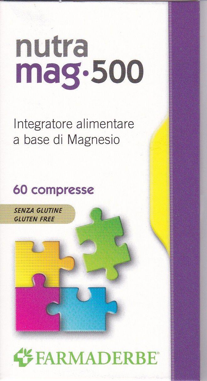NUTRA MAG-500 magnesio 60 CPR - FARMADERBE