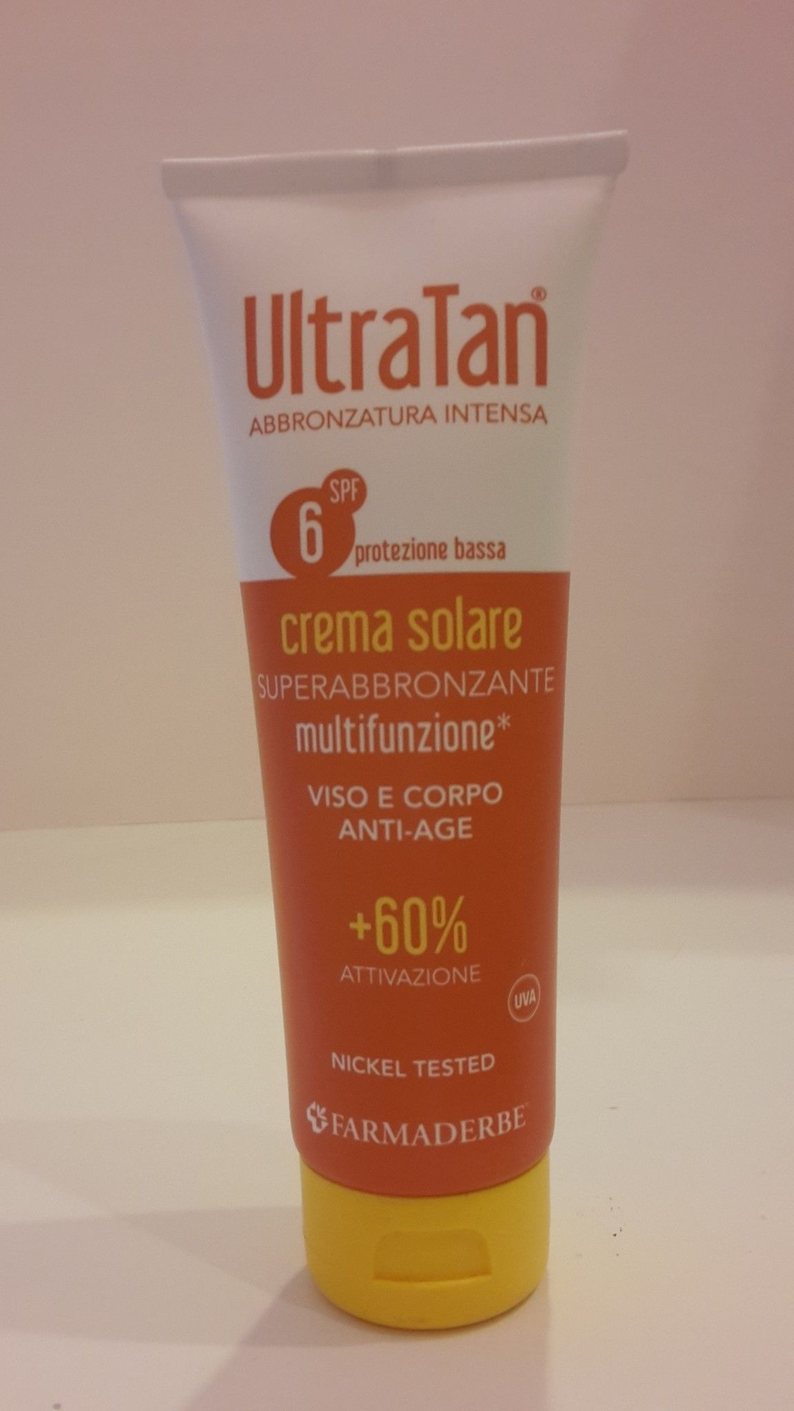 ULTRA -TAN crema solare  SPF 6-125 ml - FARMADERBE