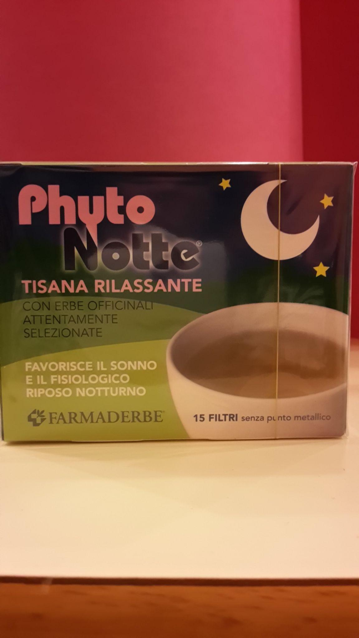 TISANA  Phito Notte Filtri Rilassante FARMADERBE