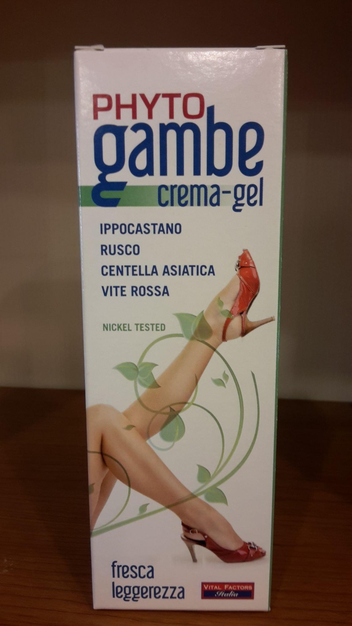 PHYTO GAMBE crema - gel 100 ml-  VITAL FACTORS