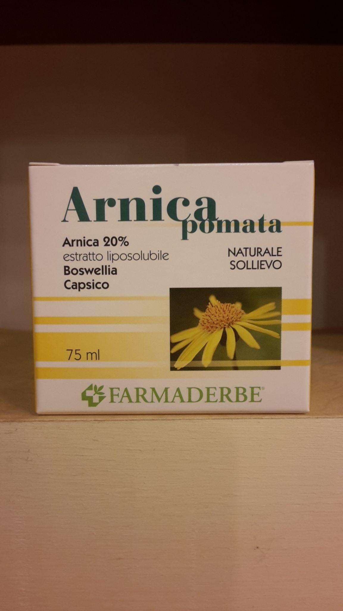ARNICA pomata  75 ml-FARMADERBE