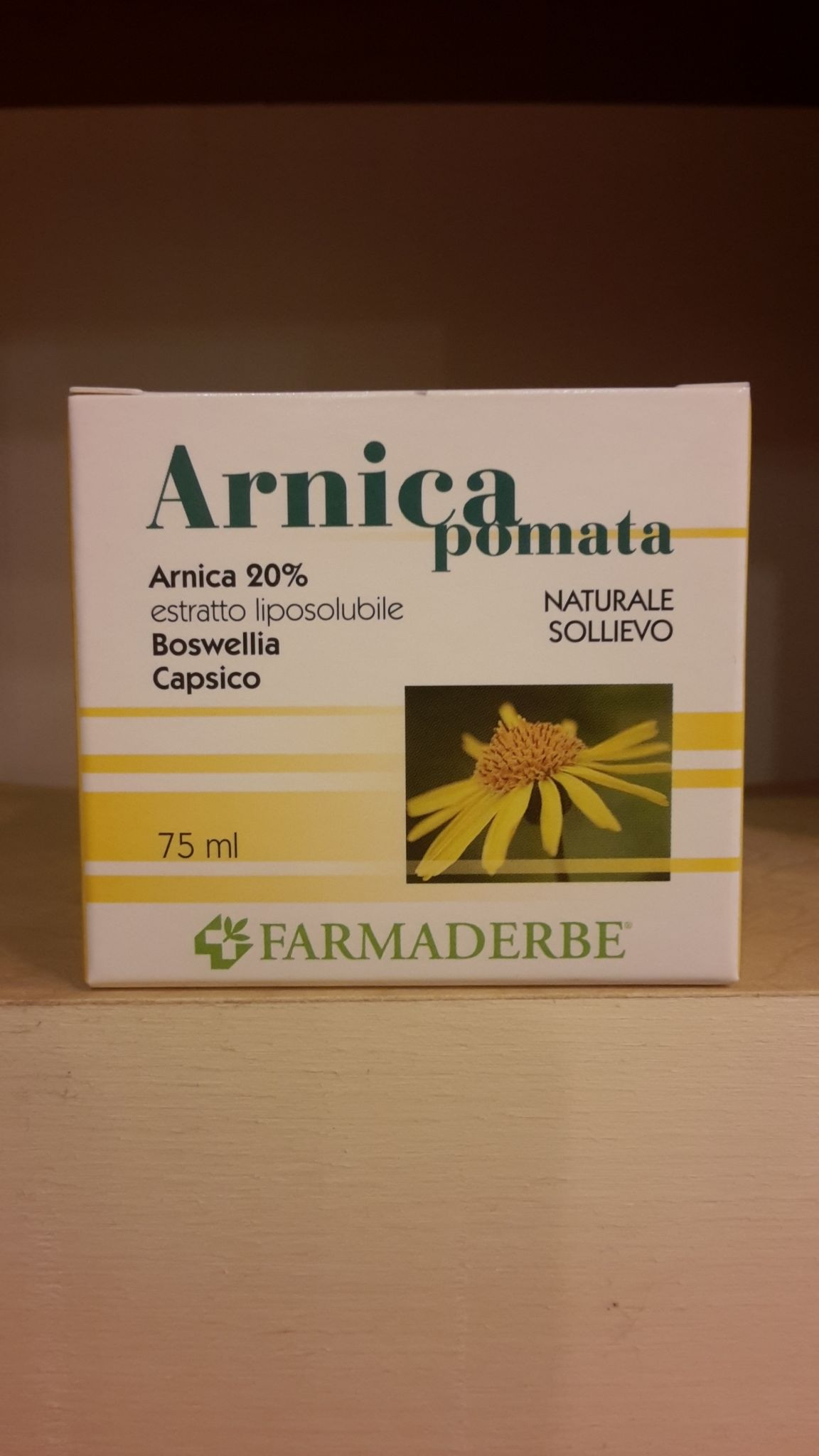 ARNICA pomata  75 ml-FARMADERBE