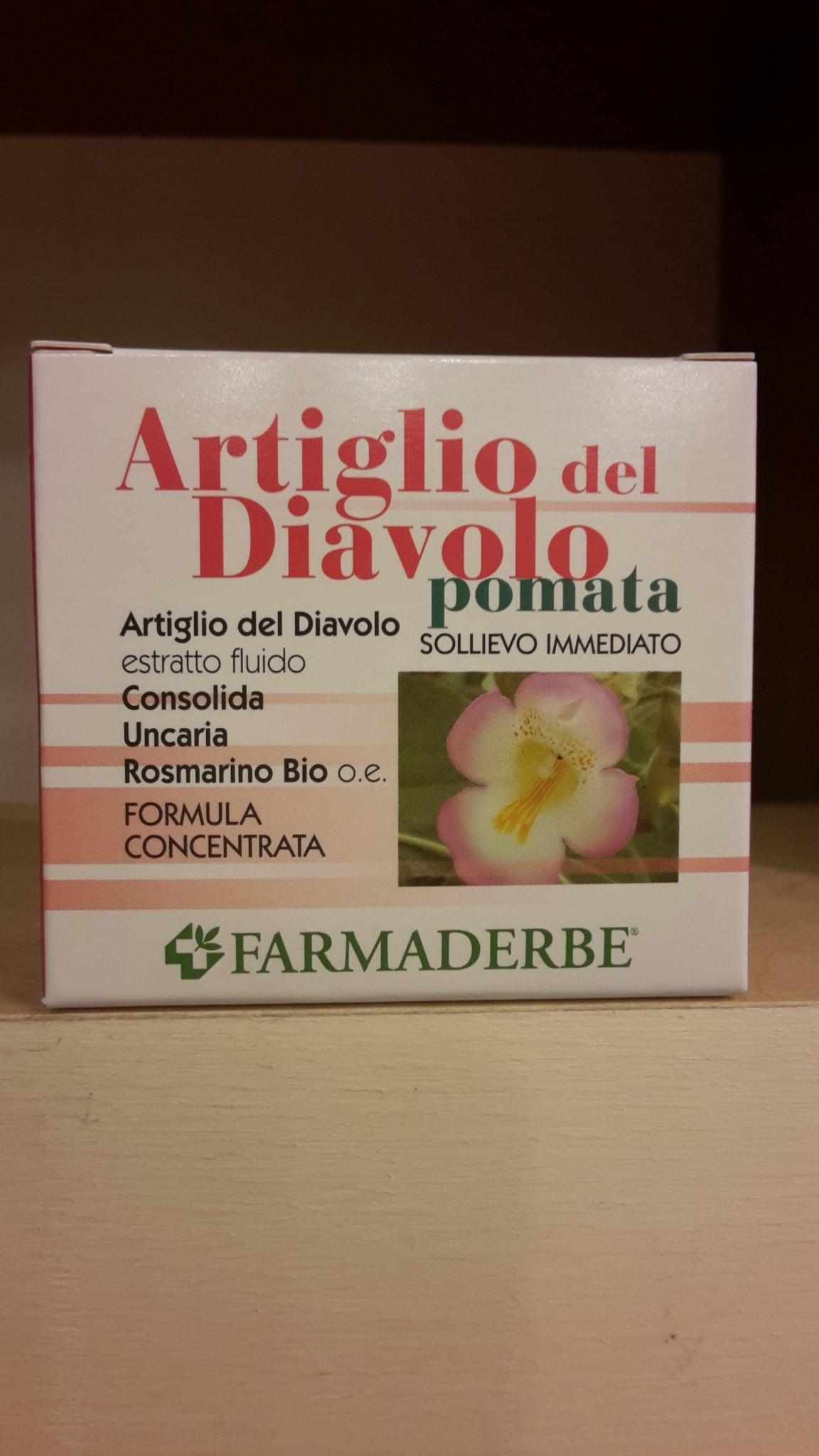 ARTIGLIO del DIAVOLO  pomata 75 ml - FARMADERBE