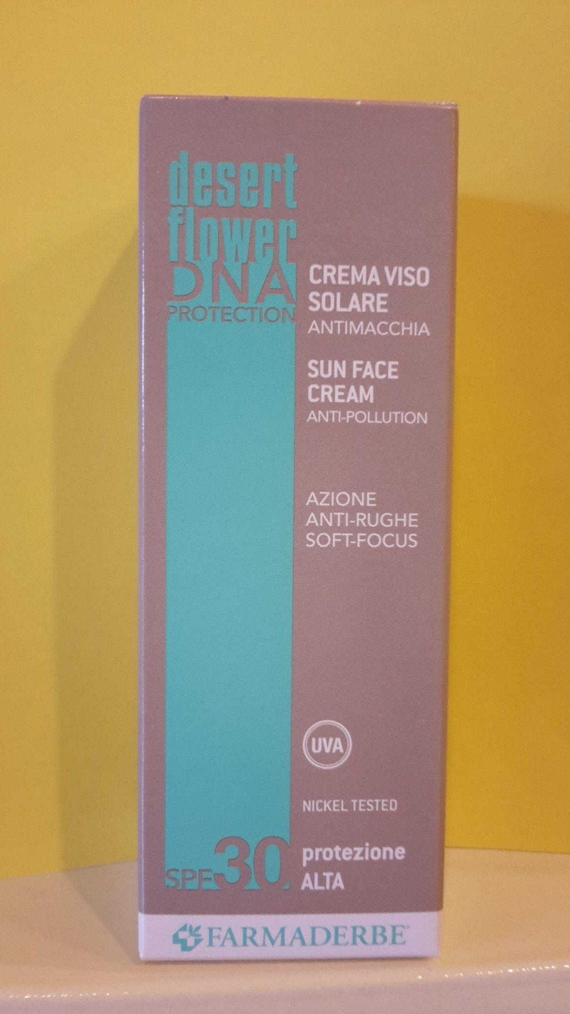 SOLARI VISO Prot. 30 - Crema Antimacchia - Farmaderbe