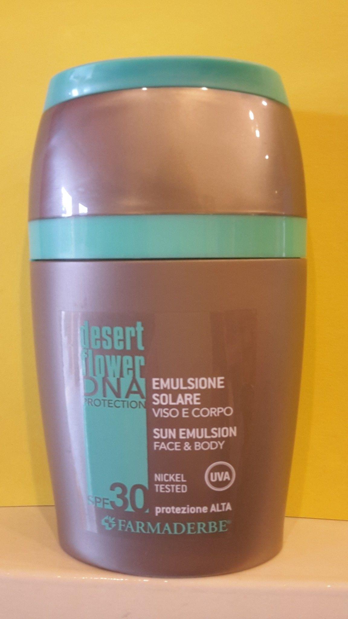 SOLARI SPF 30  Viso - Corpo 125 ml- Farmaderbe