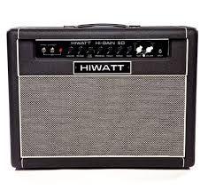 Amplificatore Chitarra Hiwatt Hi Gain 50 Valvolare