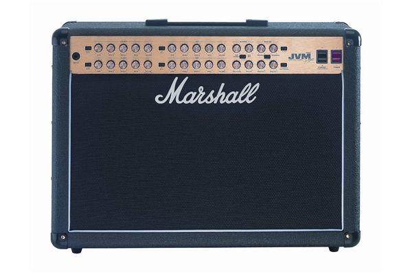 "Amplificatore Chitarra Marshall jvm 410c Valvolare 2x12"" con Pedaliera"