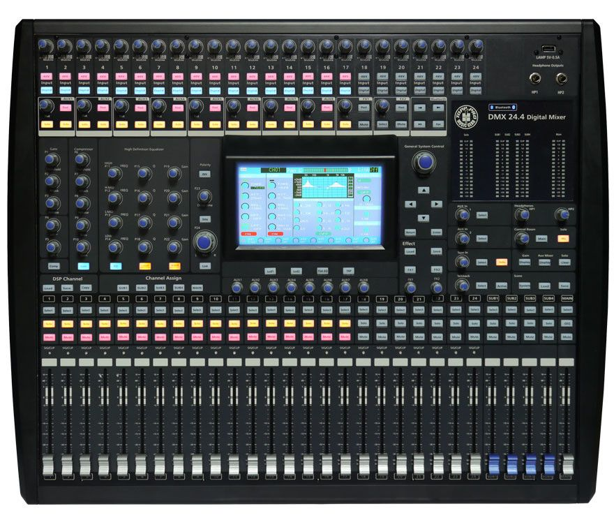 Mixer Digitale TOP PRO DMX 24-4