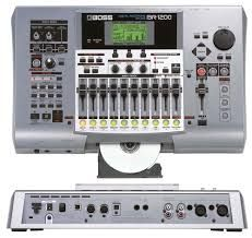 Registratore Boss BR1200cd Masterizzatore Multitraccia con cd