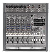 Mixer Amplificato Samson TXM16 con Effetti e Equalizzatori