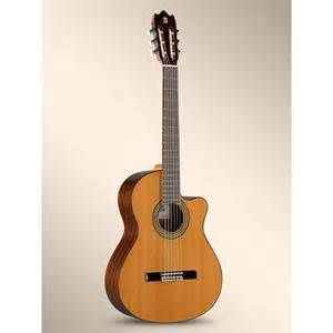 Chitarra Classica Alhambra 3cwe  Amplificata Tavola Massello