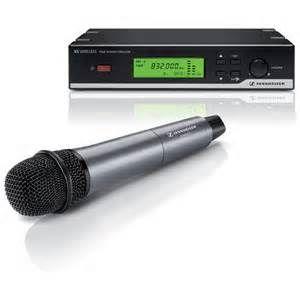 Radiomicrofono Sennheiser XSW 35 Mano Vocal e835