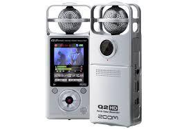 Registratore Zoom Q2hd Audio Video HD
