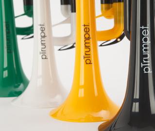 Ptrumpet  Tromba in Plastica Sib Leggera e Professionale