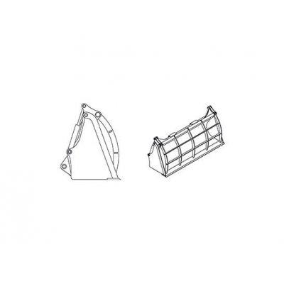Benna standard - Materiali leggeri - Benna 4x1 - Griglia di chiusura