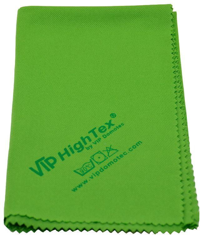 Vip Domotec Italia Articoli Pulizia.Panno Vetri Rifinitore Verde 50x40